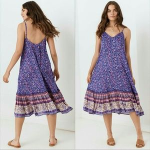 New spell Bravehearts dahlia strappy dress XXL pur